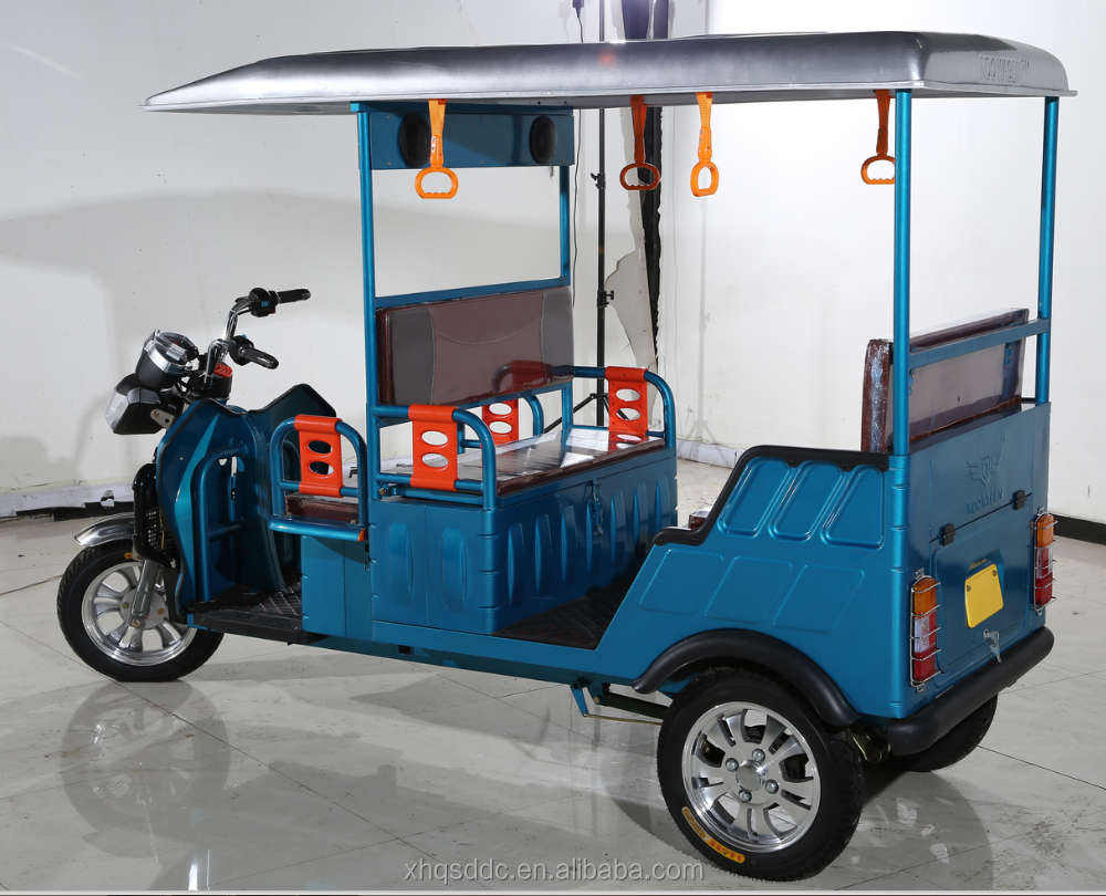 2016 ICAT approved battery powered auto electric rickshaw