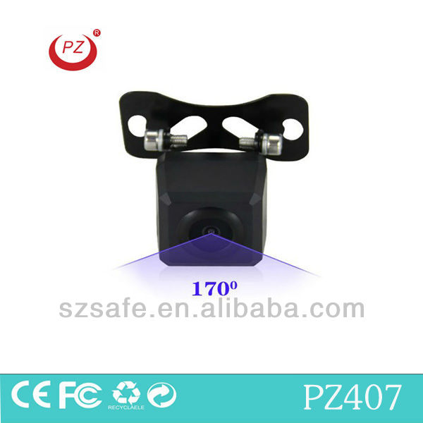 170 Degree wide viewing angle secure parking car camera system