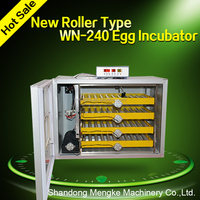 Fully Automatic Dual supply Roller Type Egg Incubator for 240 Eggs for Sale