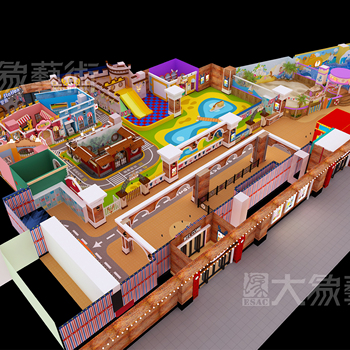 Amusement Park indoor/outdoor Layout, plan, layout, decoration and construction,  customized theme