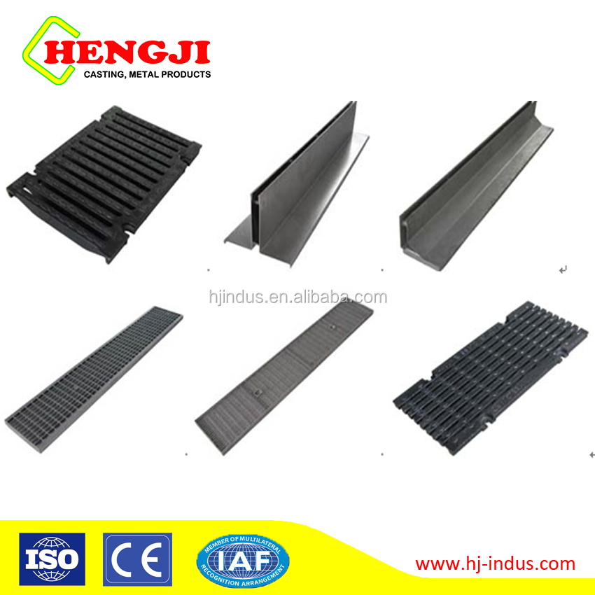 cast iron trench drain grates/cast iron tree grates/cast iron grate