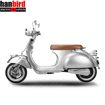 2018 New Design Retro Vespa High Quality Electric Motorcycle 2000W