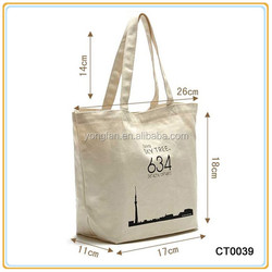 Cheap Popular Selling Eco Friendly Cotton Shopping Bag Canvas Shoulder Bag