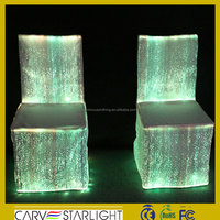 Attractive led chair cloth luminous chair cover fashion chair cover