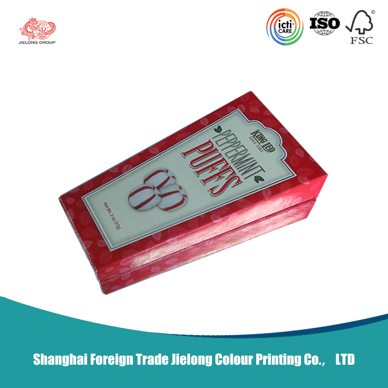 Custom Design Printing Foldable Cardboard Box For Food Package