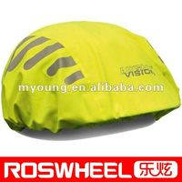 Bicycle rain cover specialized for helmet 190D waterproof polyester Material