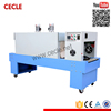 BSE5040 Stainless steel shrink plastic wrapper& shrink machine& wrapper and shrink tunnel