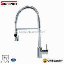 Sanipro single lever pull out kitchen faucet with UPC certificate