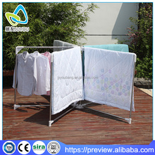 High quality stable outdoor heavy duty garment rack quilt rack