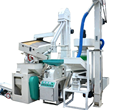 Fully automatic small scale rice huller machine