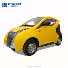 New condition and China made in 3 seater smart electric passenger car