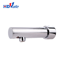 New Product China Manufacturer European Sanitary Ware Faucets Wall Mounted Self Closing Electric Water Tap