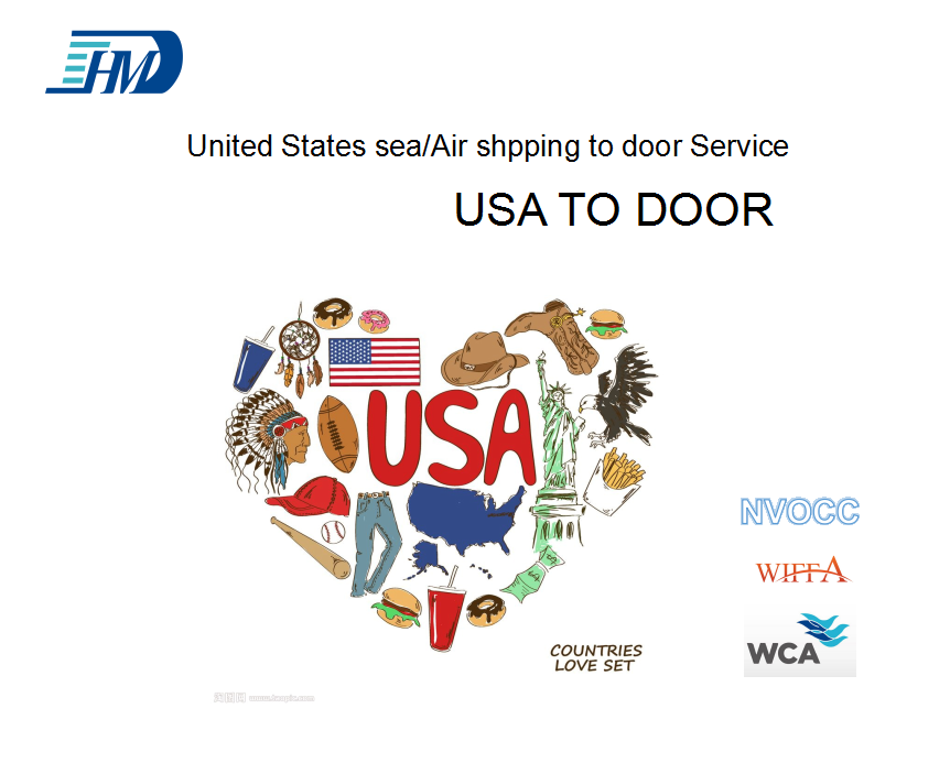 China logistics service to United States