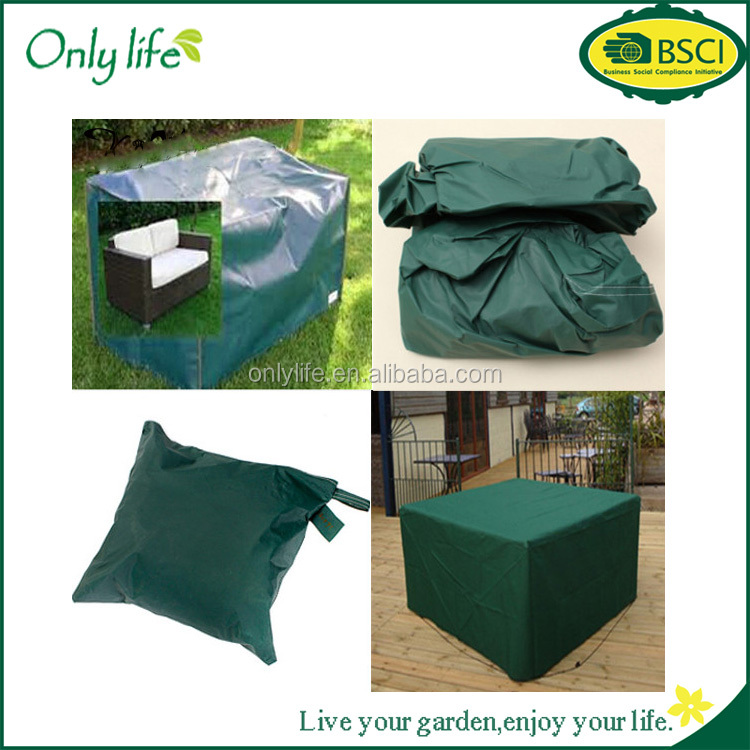 Onlylife factory selling indoor and outdoor furniture 152x82x92cm Woven Polyethylene Outdoor Furniture Cover