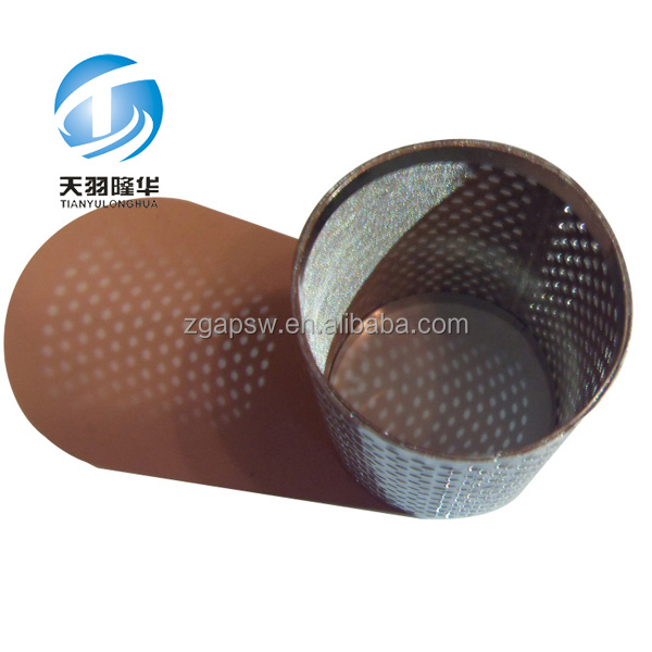 China Stainless Perforated Metal Pipe