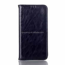 Real skin Credit card leather case pouch for LG G3 D850