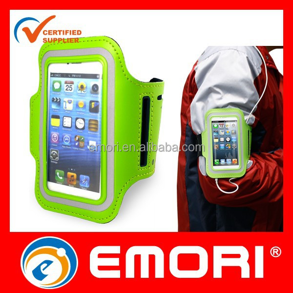 2016 newest customized colorful adjustable cell phone armband case
