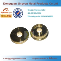 China suppliers cnc machined precision brass computer connector parts