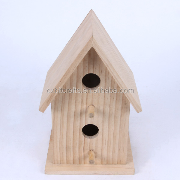 2016 latest design home decorated handmade wooden bird nest bird cages for sale