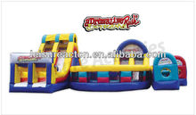 2013 adventure rush inflatable obstacle course for hot sale