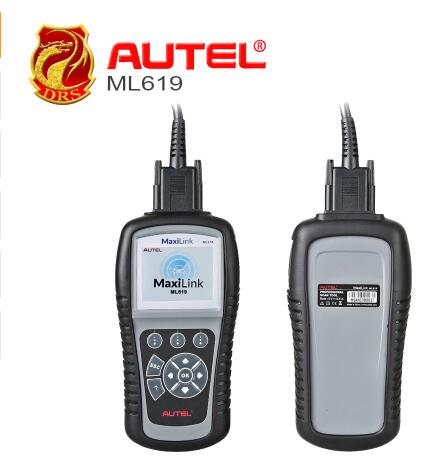 [AUTEL Distributor] Autel Autolink ML619 CAN OBD II Code Reader +ABS/SRS Dianostic Scan Tool, Turns off Engine Light (MIL)