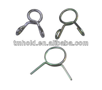 high pressure single wire spring clips for all automotive pipes