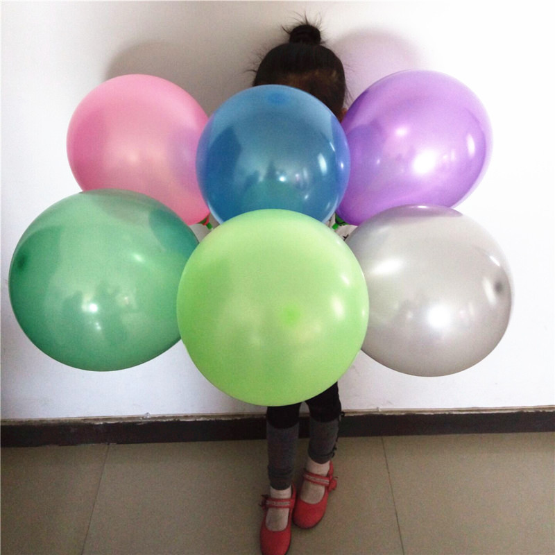 2016 factory price metallic latex balloon for decorations