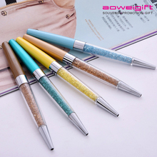Best Crystal Promotion Gift Sign Roller Pen Stationery Metal Ballpoint Pen