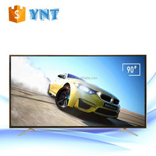 "4k UHD smart led tv 90 inch 3840*2160 resolution flat screen tv lcd 90"" large Screen Size 4k tv with A grade"