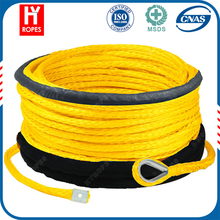 HYropes HW0191 yellow Color winch atv cable replacement small electric winch rope