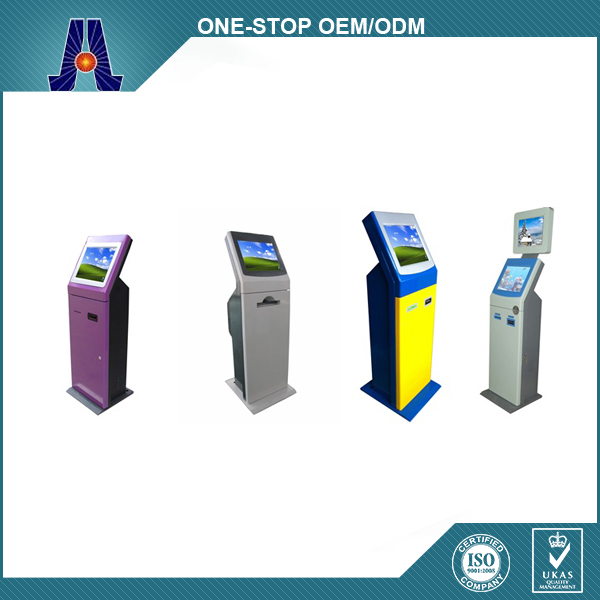 Queuing Kiosk With Printer And Card Reader / Queue Management System