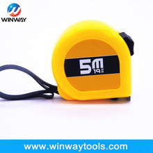 classic High ABS box color 5m Precision scale tape measure with Top and down break