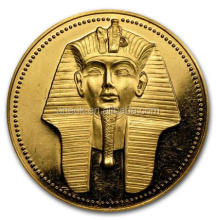Egypt King High quality Custom latest fashionable gift silver souvenir coin