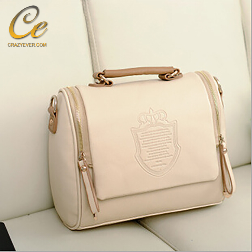 women handbags PU leather tote top handle cross body bags