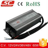 KV-12060-DA 12V 24V 60W DALI waterproof electronic led driver