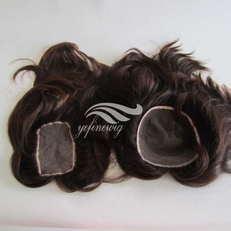 High Quality hair pieces human hair toupee for top of head