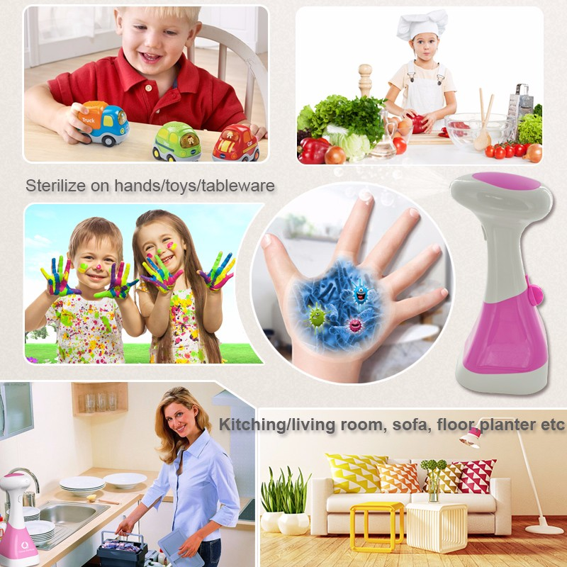 Battery powered car ozonizer disinfectant air ozonizer household water ozonator O3 generator water sterilization