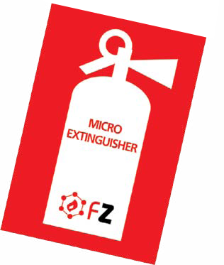 Fire Extinguisher - Sticker Type