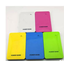 2013 NEW 4000mAh ultra-thin Portable battery charger mobile extra power bank pack for samsung htc blackberry