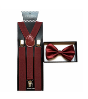 Colorful Elastic Fashionable Custom Suspenders For