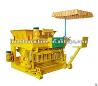 JMQ-6A FULL AUTOMATIC MOBILE CEMENT HOLLOW BLOCK MAKING MACHINE PRICE IN FRANCE
