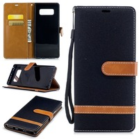 New Cowboy PU Leather Phone Case For samsung note8 Wallet Stand Case