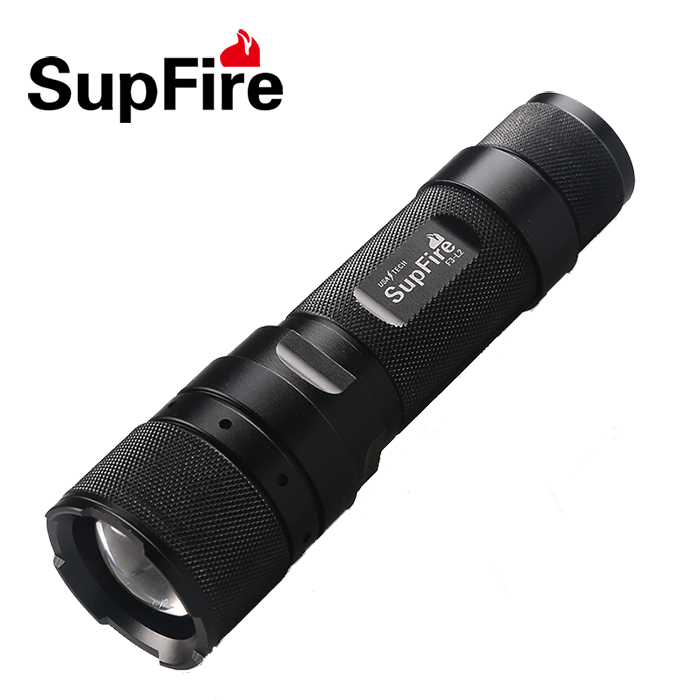 AAA Battery Type or 1*18650 Lithium Battery SupFire F3-L2 LED Light Source high power led focus torch