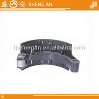 Benz truck brake shoe rear casting or iron H180 OEM3934202519