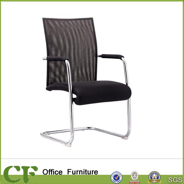 U Shape Ergonomic Fixed Fabric Office Meeting Chair for Business Conference