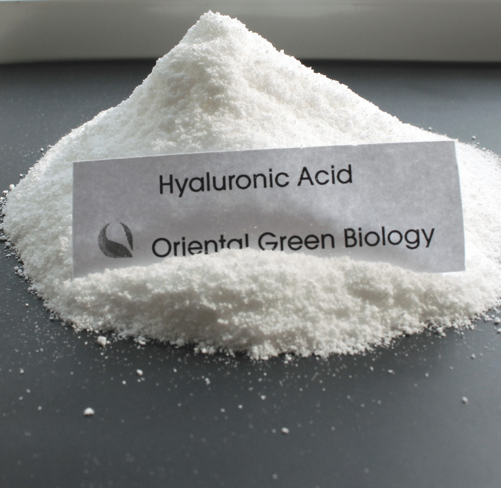 Pure 99% hyaluronic acid powder cosmetic grade with low molecular weight