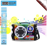 High Quality Active Wooden Speaker,Karaoke sound system, with FM/MIC