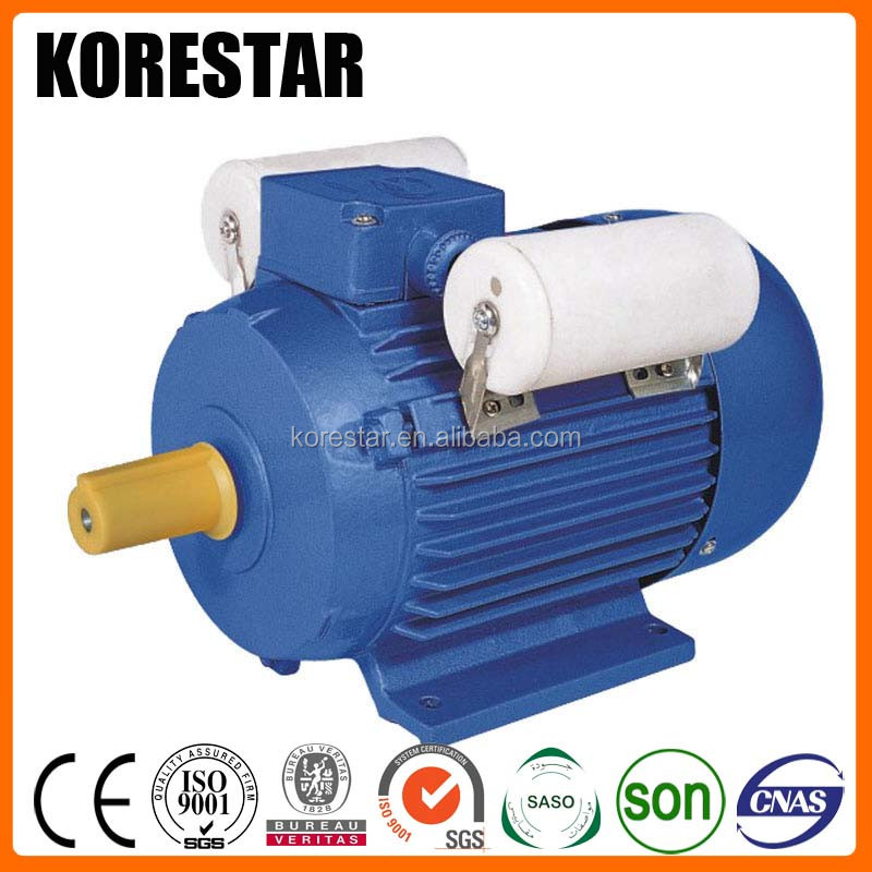 Korestar YC single phase water pump electric motor 110 volt 2hp
