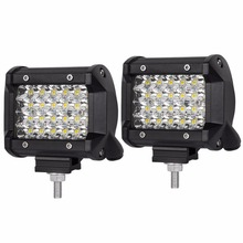 90W LED work light spot beam driving light offroad jeep 4x4 suv automobile