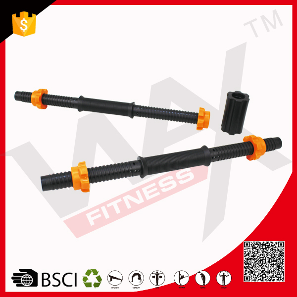 Gym Exercise Equipment Plastic Solid Weight Barbell Dumbbell Bars